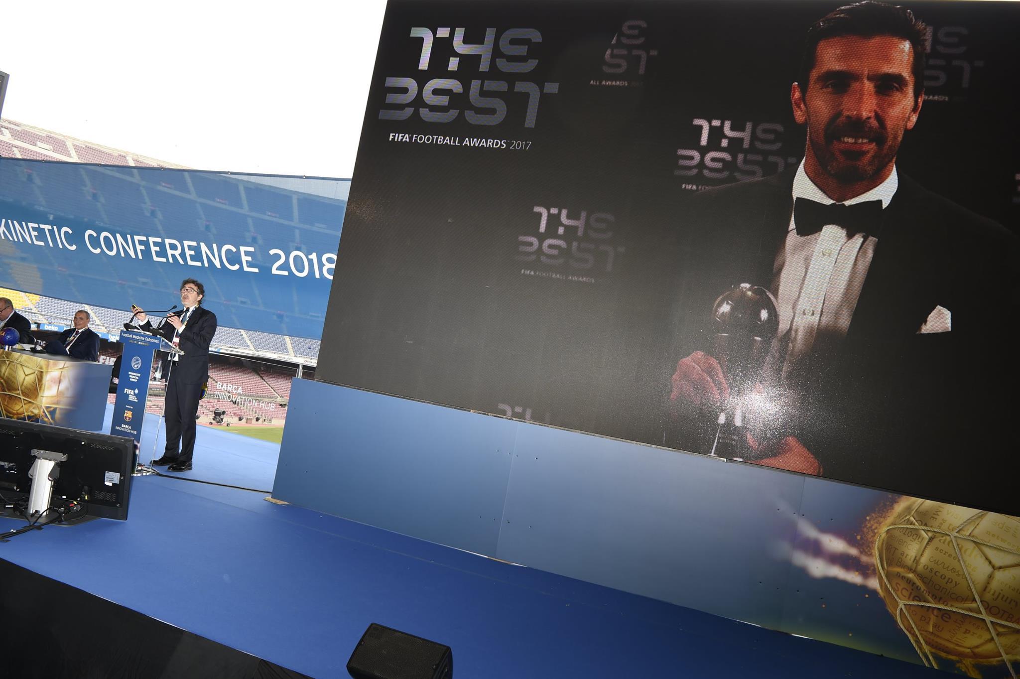 Corriere dello Sport – La storia sportiva e medica di Gigi Buffon presentata al Camp Nou