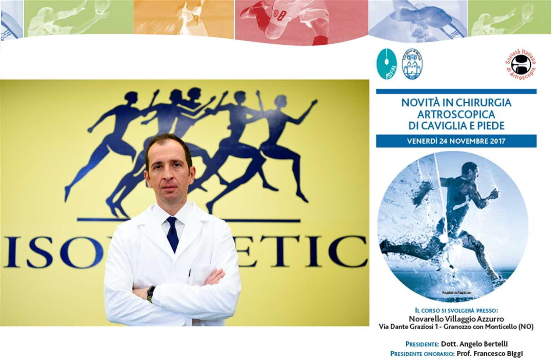 Il Dr. Tomaello e la moderna riabilitazione della caviglia
