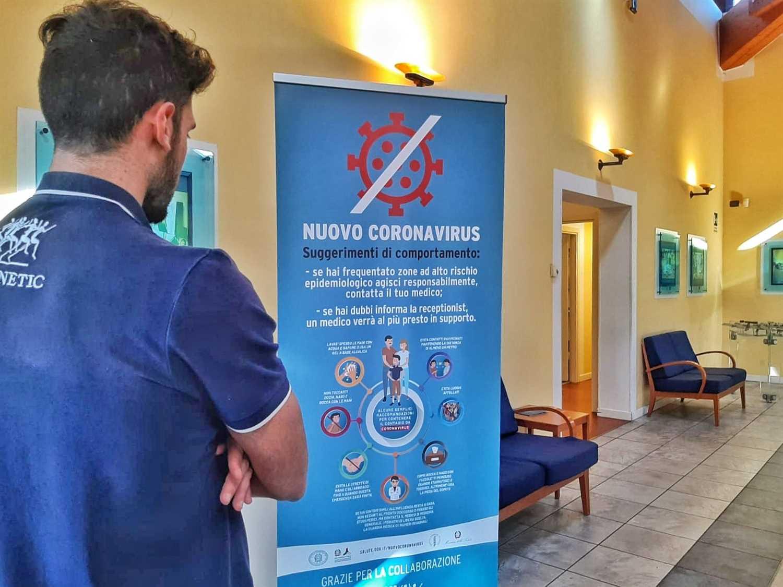 CORONAVIRUS: AGGIORNAMENTO ATTIVITA' VISITE E TRATTAMENTI DI RIABILITAZIONE