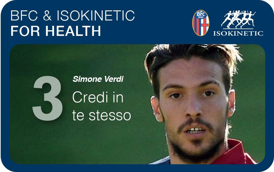 """Bfc & Isokinetic for health – Simone Verdi: """"Credi in te stesso"""""""