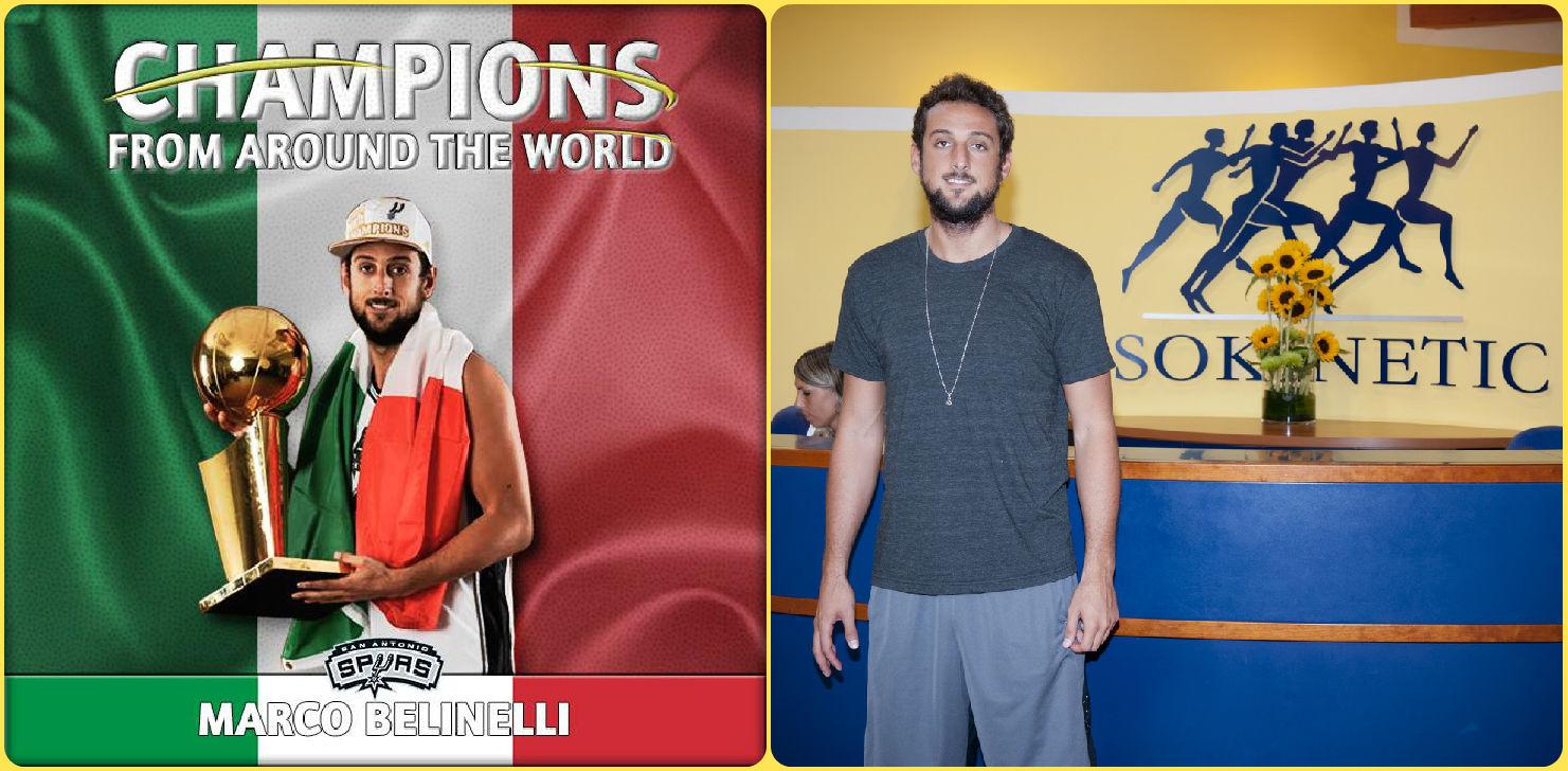 NBA: complimenti al nostro Belinelli e agli Spurs!