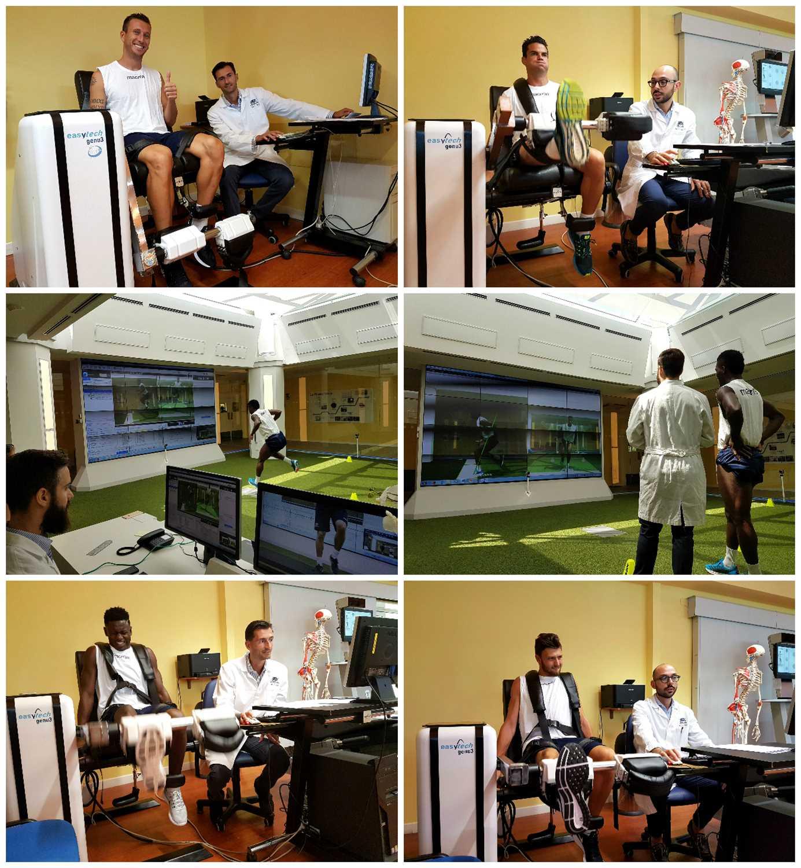 Bologna FC: visite mediche e test isocinetici in Isokinetic