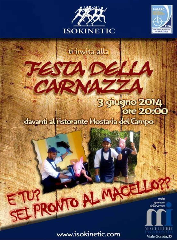 """""""Festa della Carnazza"""" a Roma!"""