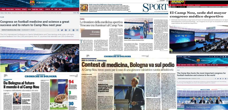 Il Camp Nou ha ospitato il più grande congresso di medicina dello sport