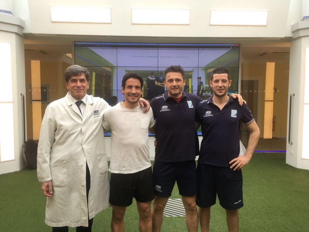 Del Grosso torna in campo dopo la riabilitazione in Isokinetic