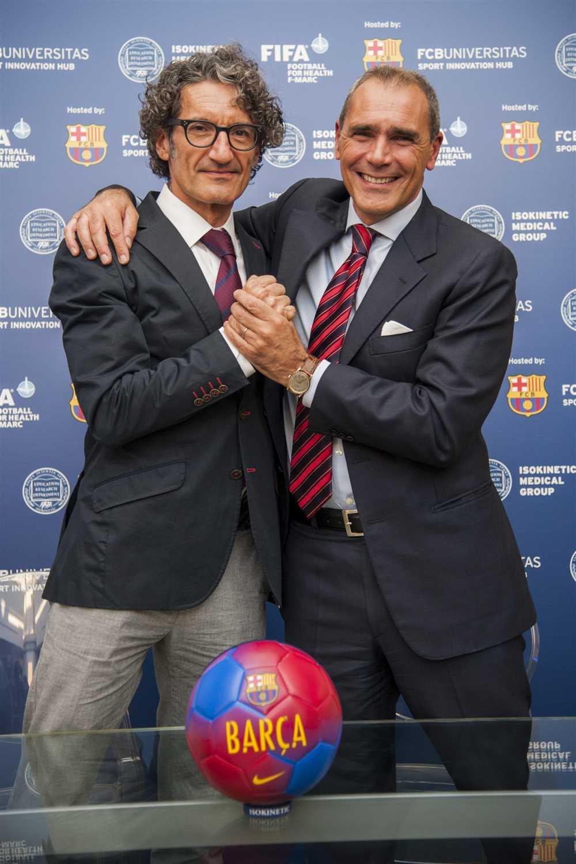FC Barcelona e Isokinetic: conferenza stampa in Green Room a Bologna