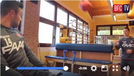 Di Francesco – Lesione al collaterale e riabilitazione in Isokinetic