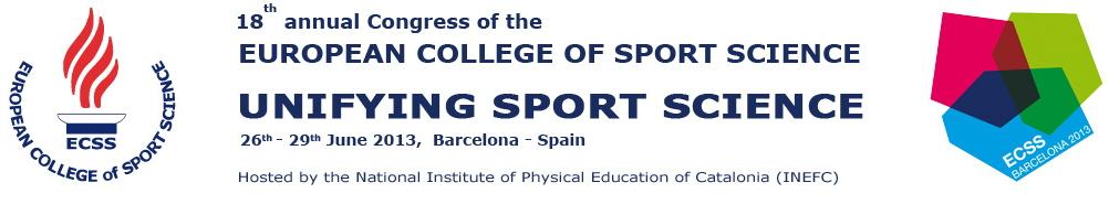 European College of Sport Science Congress