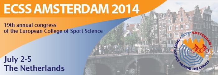 Congresso European College of Sport Science (ECSS) ad Amsterdam