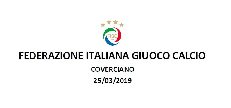 FIGC – Il Dr. Francesco Della Villa a Coverciano per il consueto incontro