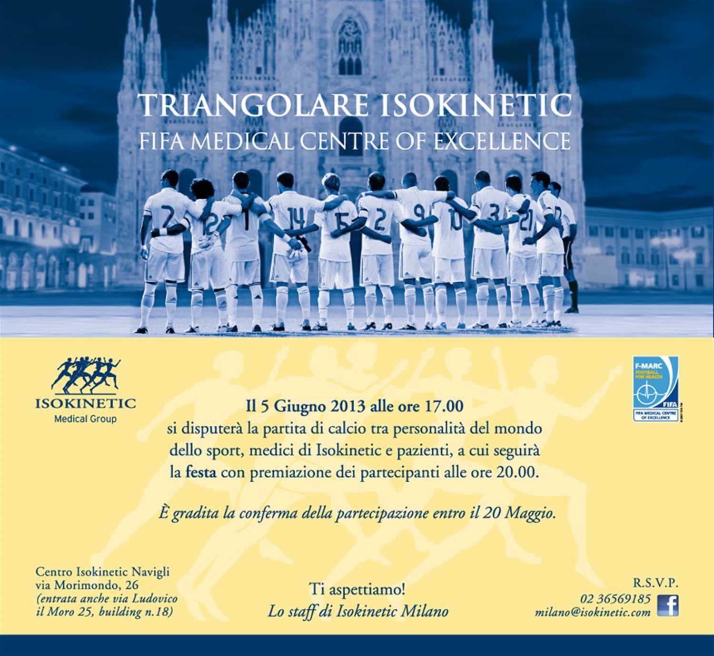 Festa a Milano Navigli e triangolare di calcio