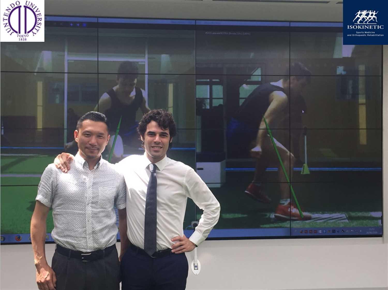 Juntendo University Hospital Tokyo e Isokinetic: incontro tra Fifa Medical Centre of Excellence