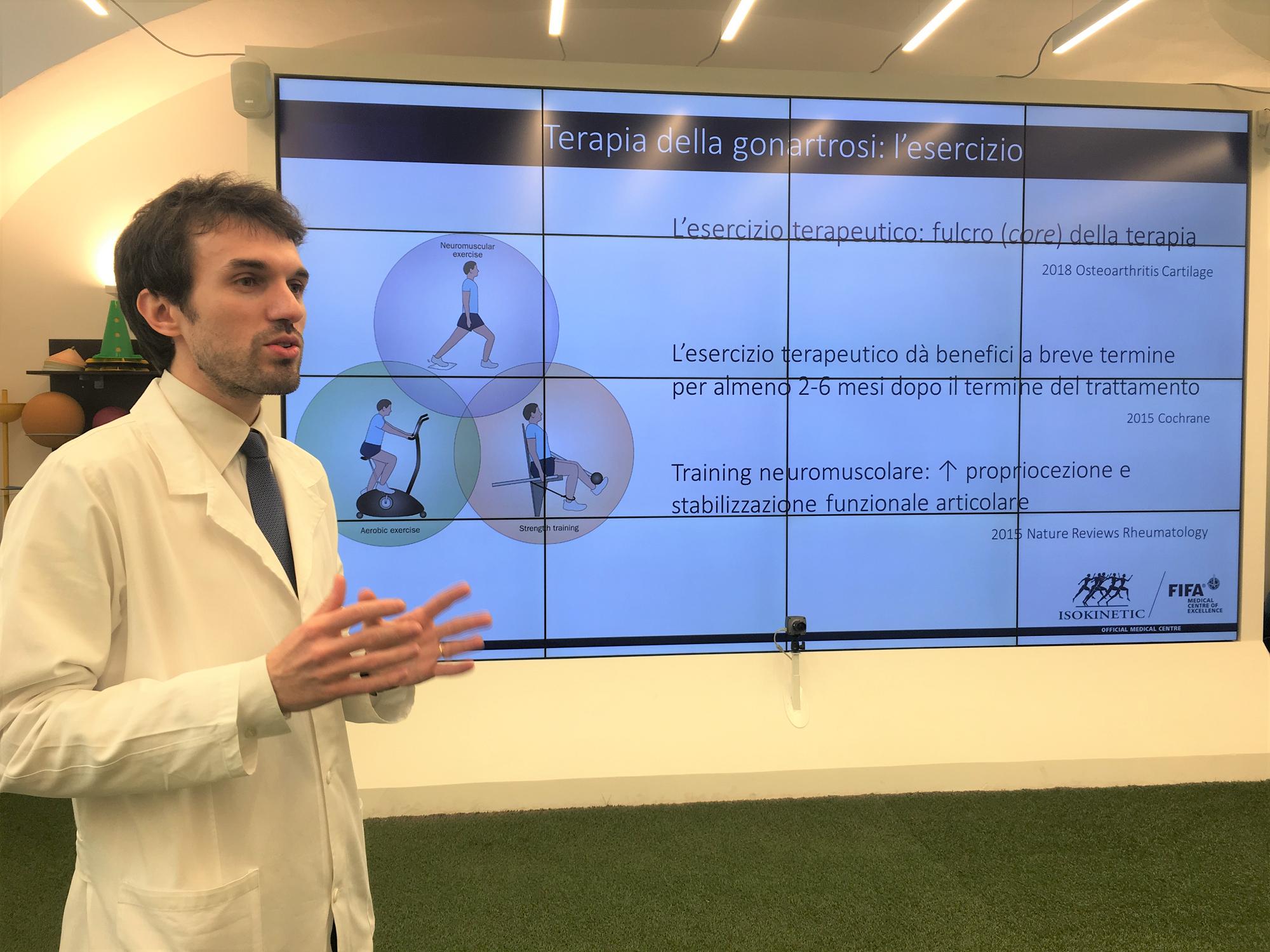 Isokinetic Torino e i Medici di Medicina Generale per le persone con artrosi del ginocchio