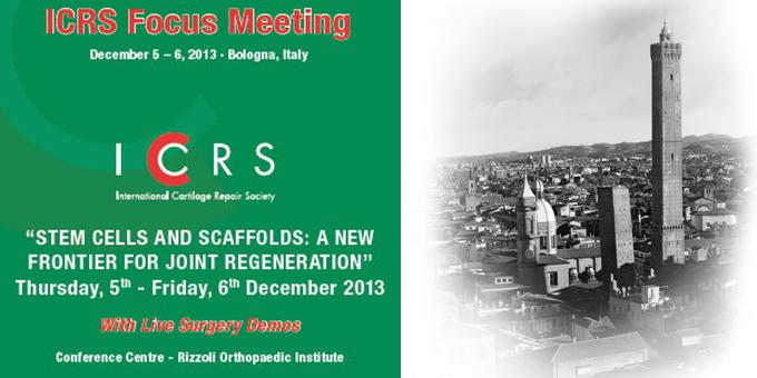 ICRS Focus Meeting, Bologna 5-6 Dicembre 2013