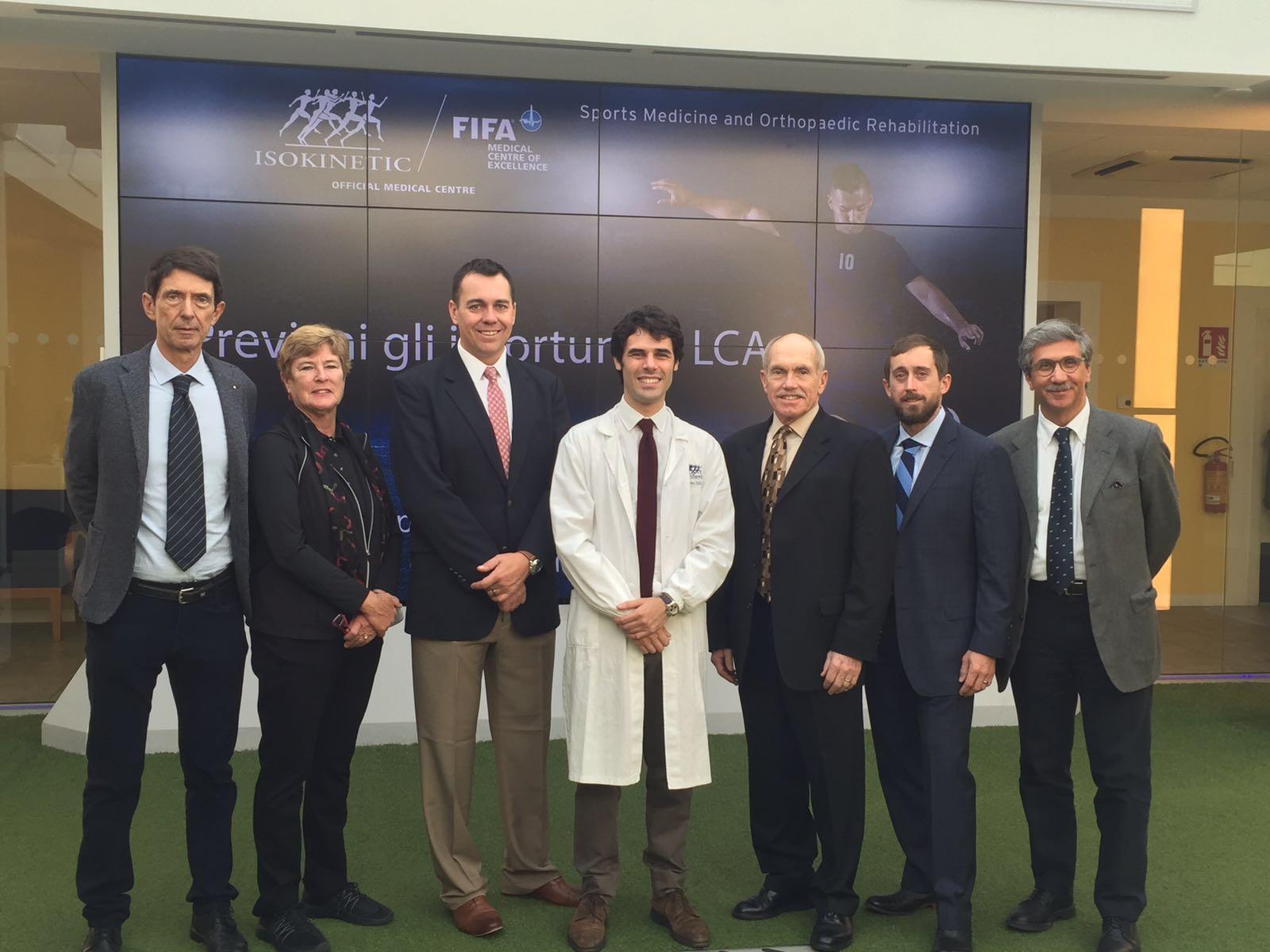 Visita in Isokinetic Bologna per la delegazione americana AMSSM