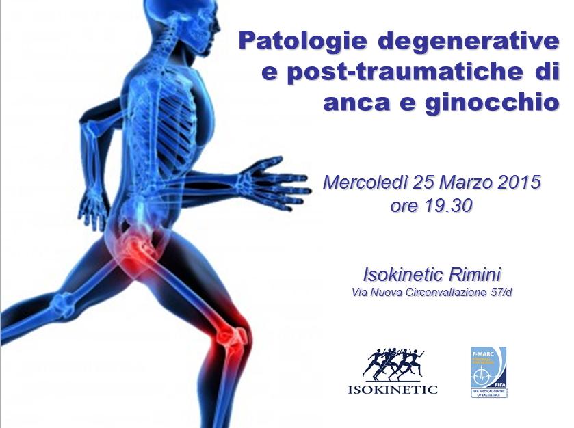 """Incontro a Rimini sulle """"Patologie degenerative e post-traumatiche di anca e ginocchio"""""""