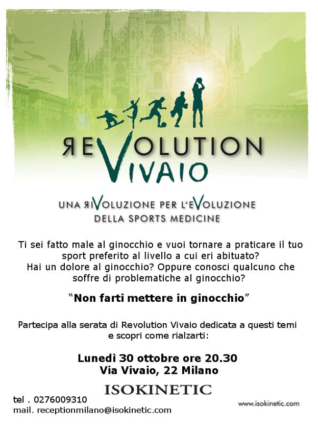 """ReVolution Vivaio: """"Non farti mettere in ginocchio"""""""