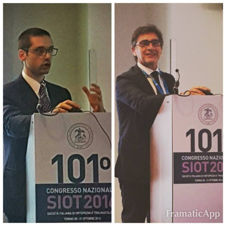 Dott.Tencone e dott.Giannini al Congresso della SIOT