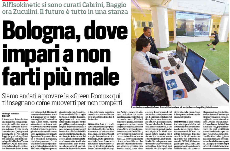 """Lo Stadio: """"Bologna, dove impari a non farti più male"""""""