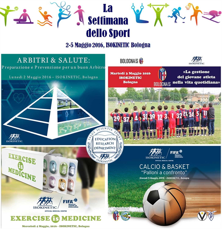 La Settimana dello Sport in Isokinetic Bologna
