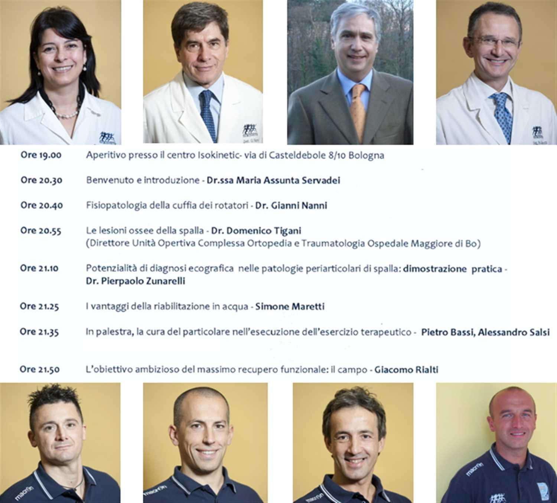 Incontro a Bologna con i medici di base sull'articolazione della spalla