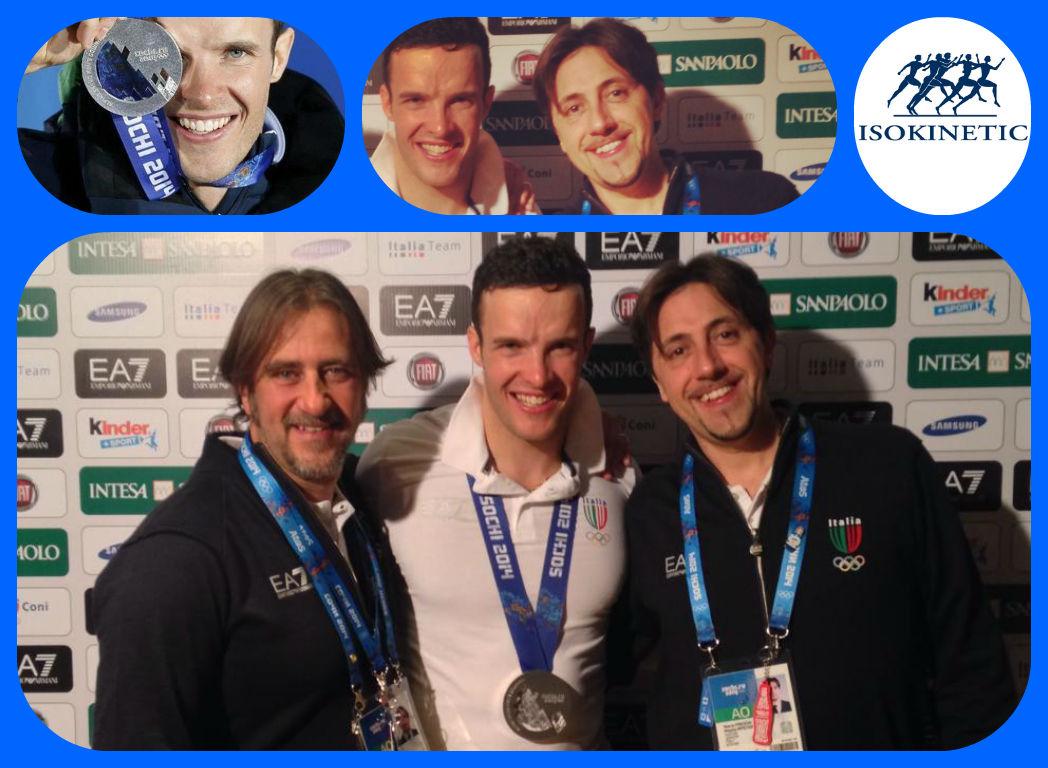 Un po' di Isokinetic Milano nella medaglia di Innerhofer!