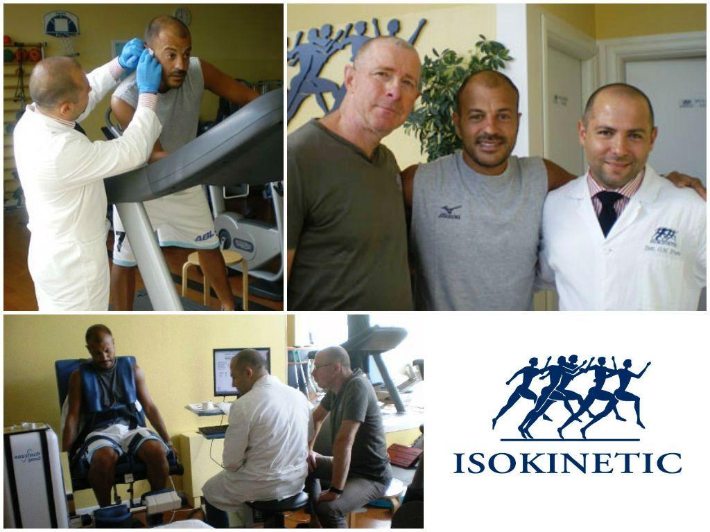 Ricchiuti torna in biancorosso: visite mediche presso Isokinetic Rimini