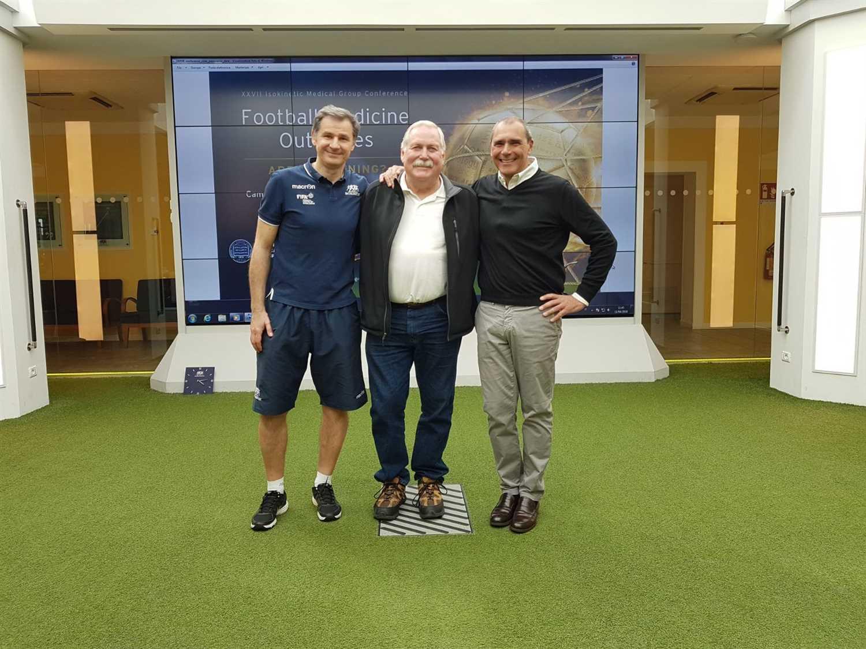 Rick Eagleston in visita alla Green Room di Isokinetic Bologna