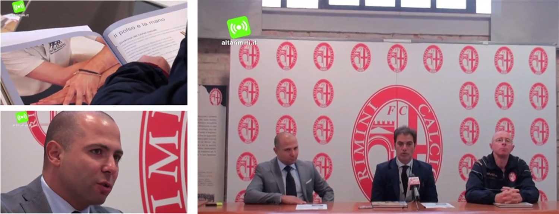 Collaborazione tra Rimini Calcio e Isokinetic Rimini: presentazioni ufficiali