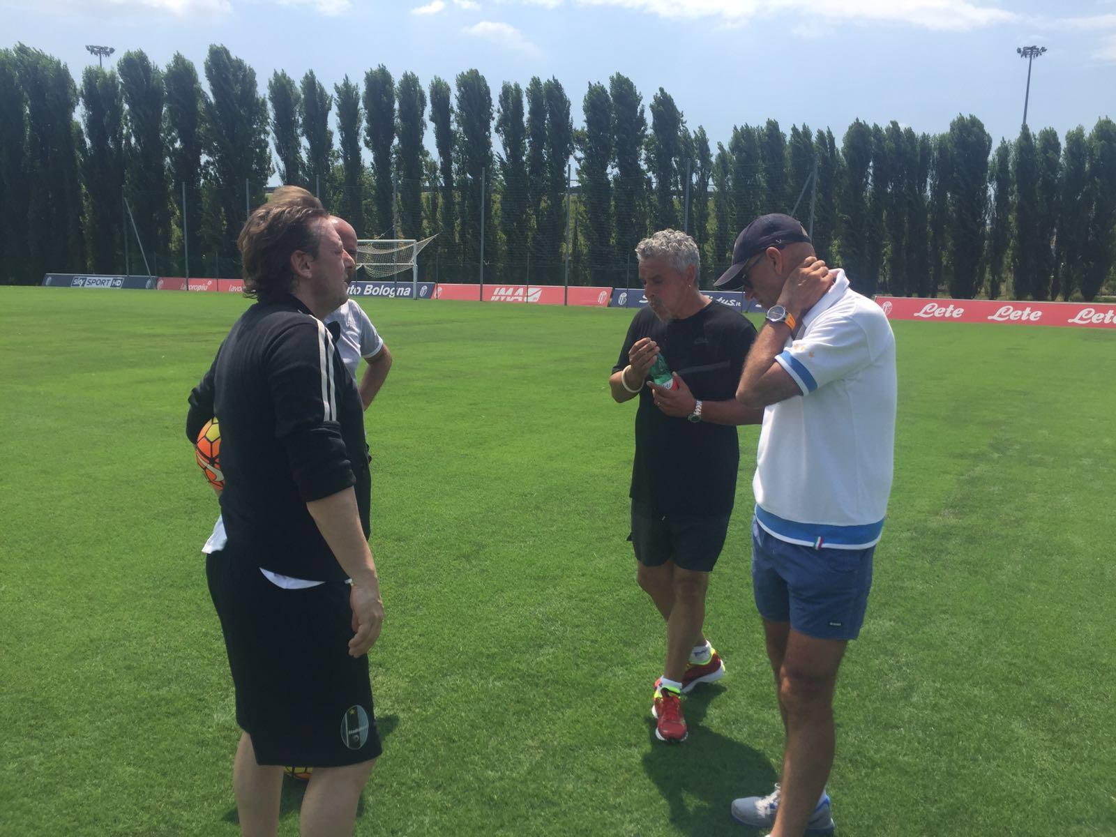 Baggio e Signori: in Isokinetic come ai Mondiali USA'94