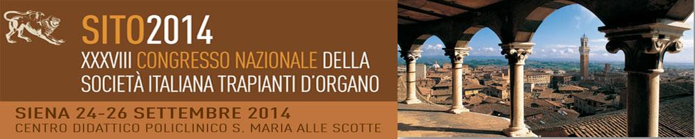 SITO 2014: Congresso Nazionale della Società Italiana Trapianti d'Organo