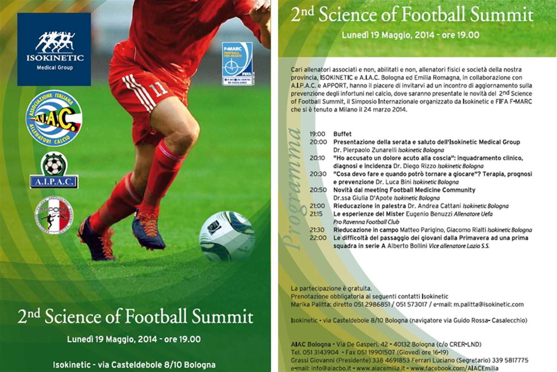 """Isokinetic e A.I.A.C. incontrano gli allenatori per il """"2° Science of Football Summit"""""""