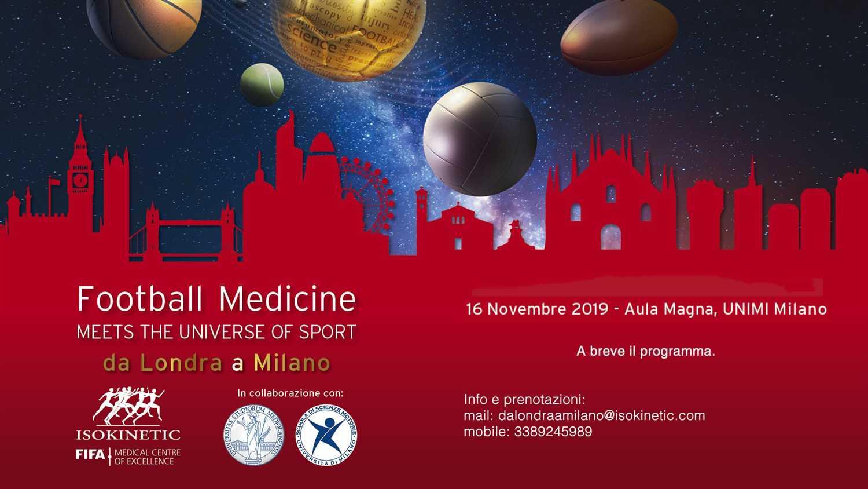 """Football Medicine Strategies Meets the Universe of Sport – Da Londra a Milano"""