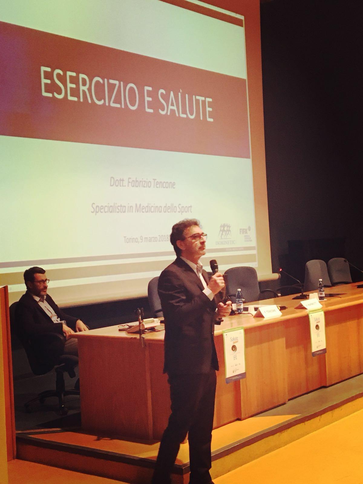 Esercizio e Salute – Ospedale Molinette, Dr. Tencone
