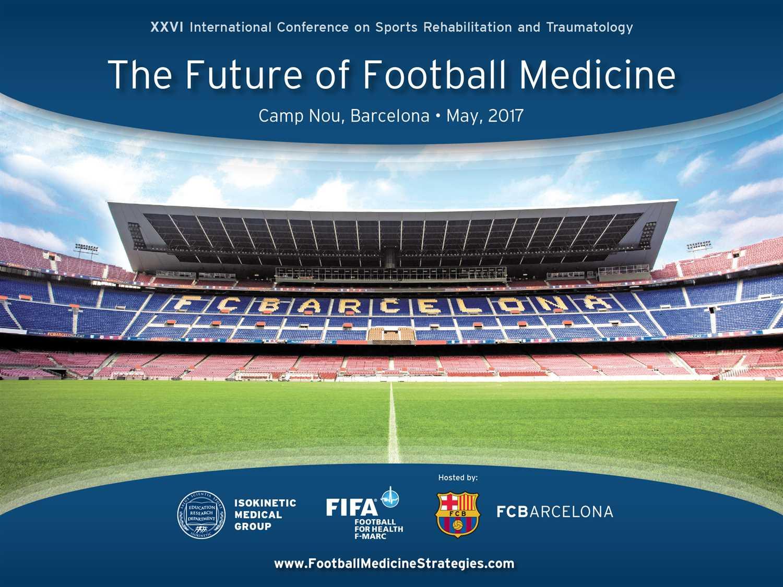 """Congresso Barcelona 2017: """"The Future of Football Medicine"""" – Primo annuncio"""
