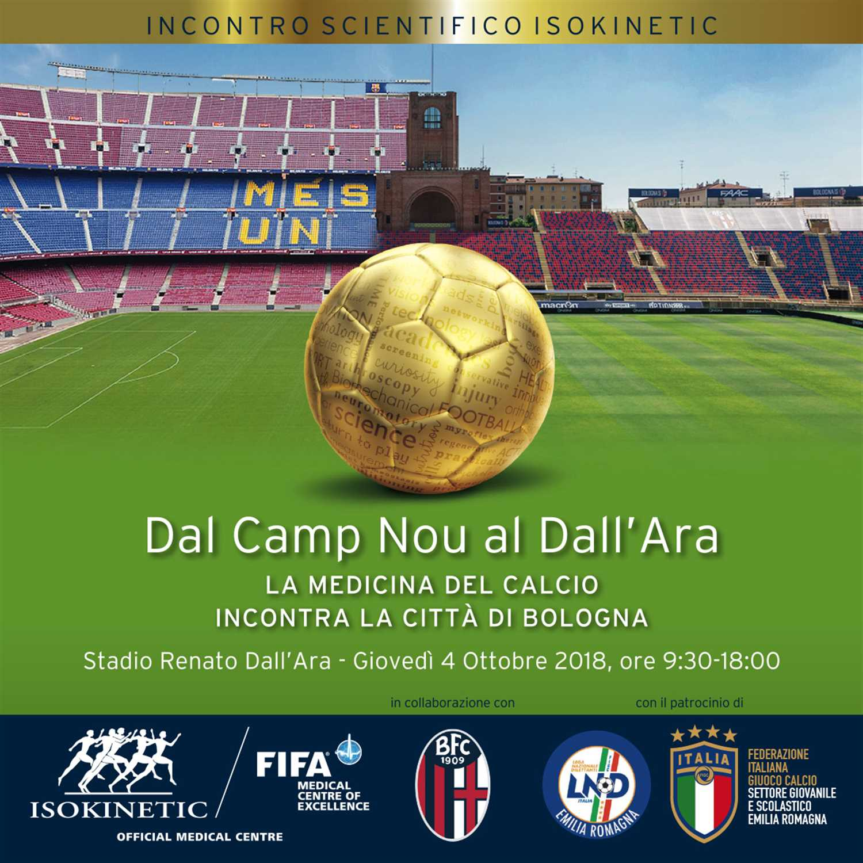 Dal Camp Nou al Dall'Ara – La medicina del calcio incontra la città di Bologna