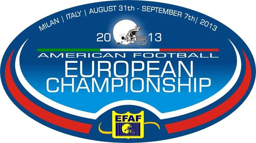 Isokinetic è partner degli Europei 2013 di Football Americano