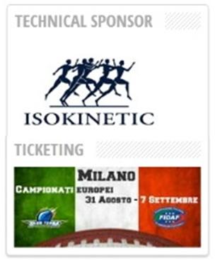 Campionati Europei Football Americano a Milano
