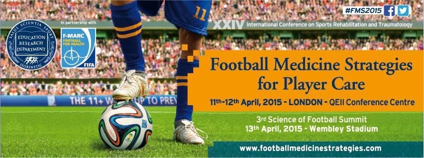 Congresso Football Medicine Strategies 2015 a Londra