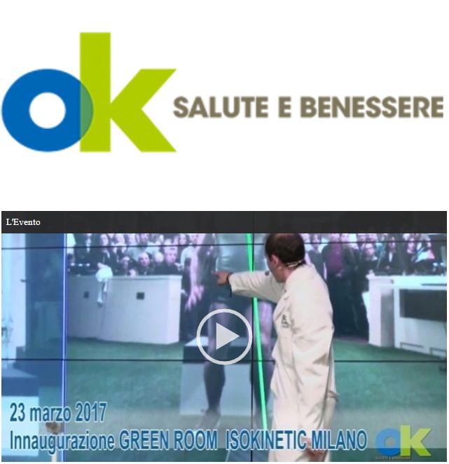OK Salute – Una Green Room per prevenire gli infortuni