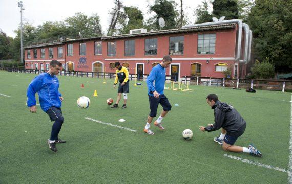 on field rieducazione funzionale sul campo sportivo