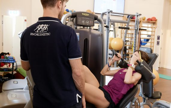 Foto LaPresse - Fabio Ferrari 29 Novembre 2018 Centro Isokinetic | Medicina dello Sport e Riabilitazione Ortopedica |