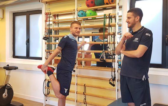 Ciro Immobile_spalliera_riabilitazione infortuni sportivi_Isokinetic Roma