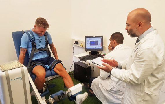 Isokinetic-Roma-Test funzionali -Lazio 2019- Ciro Immobile