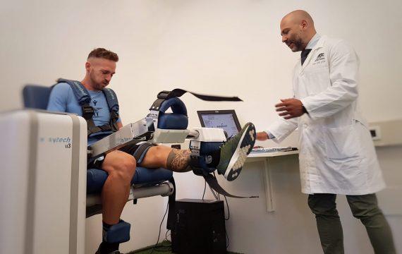 Isokinetic Roma- Test isocinetico -Lazio- calcio -test valutazione -funzionale