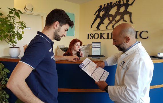 Isokinetic Roma team di cura medico fisioterapista parlano della salute del paziente