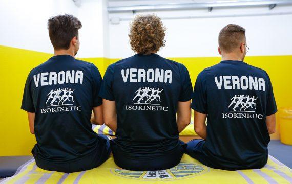 Isokinetic Verona Health parner -Hellas Verona_maglie