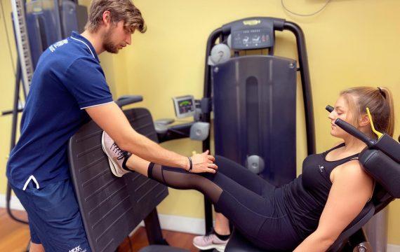 Knee gym rehab
