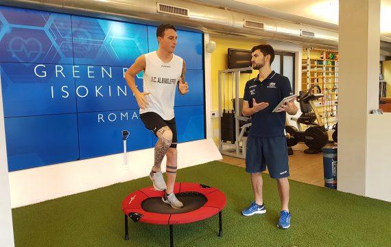 Riabilitazione_Green Room_Isokinetic Roma_Fisioterapista