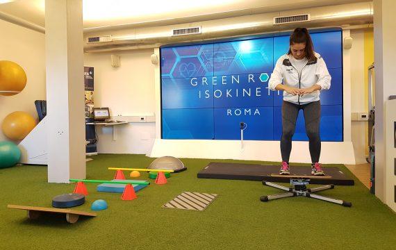 circuito propriocettivo_Riabilitazione green room_Isokinetic Roma